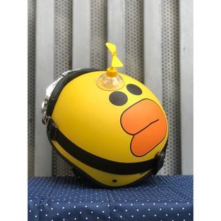 [ FLASH SALE ]  Mũ Vịt Vàng Cute Gắn Chong Chóng kèm Kính Phi Công ❤️freeship❤️ Nhựa ABS Dẻo Độ Bền Cao - BH 6 Tháng