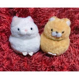 Combo mèo Hige Manjyu Amuse plush !