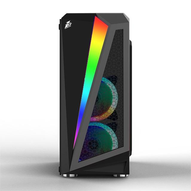Thùng CASE máy tính 1STPLAYER R5 Rainbow cường lực Giá chỉ 549.000₫