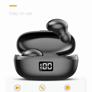 Tai nghe Nhét tai bluetooth có màn hình hiển thị % pin HKT6 magic