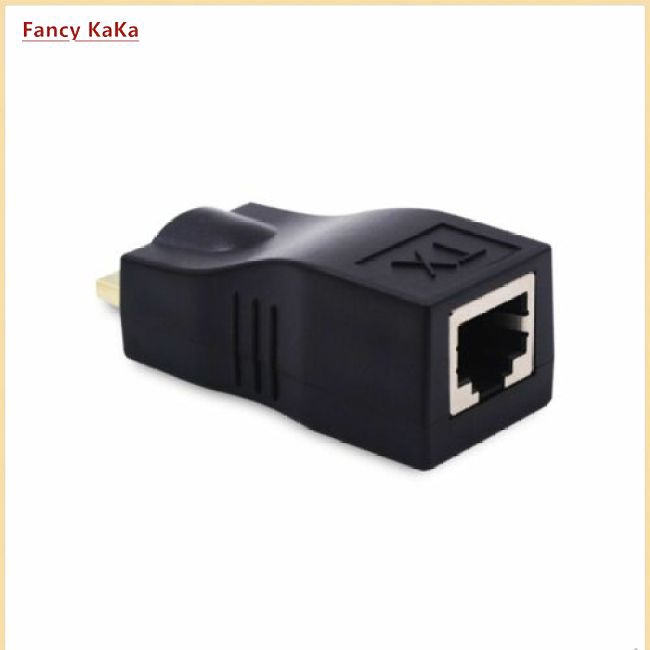 hot HDMI to RJ45 Extender Over Cat 5e/6 Network LAN Ethernet Adapter