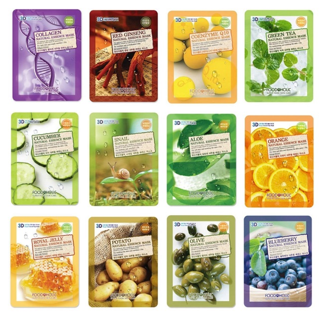 Mặt nạ 3D Foodaholic - 2891005 , 452744006 , 322_452744006 , 10000 , Mat-na-3D-Foodaholic-322_452744006 , shopee.vn , Mặt nạ 3D Foodaholic