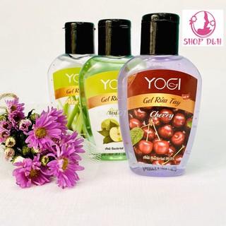 (XẢ KHO) Hộp 12 Chai nước rửa tay khô Yogi – 70ml – Minh Phượng – 5 Mùi ngẫu nhiên