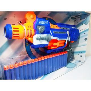 Mô hình Sung bắn đan xốp kèm 20 viên mút xốp. Mô hình bắn mút xốp, neft cho bé, đồ chơi trẻ em an toàn, năng động.