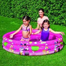 Bể phao bơi 3 tầng hình Micky Bestway 91037 cho bé từ (3+)