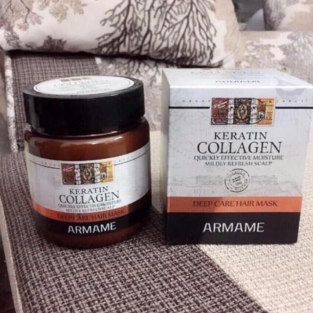 [Hàng Ý] Ủ Tóc Armame Keratin Collagen Cao Cấp Xuất Xứ Ý