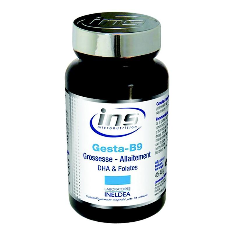 Gesta B9 cung cấp DHA và Folates (Pháp)