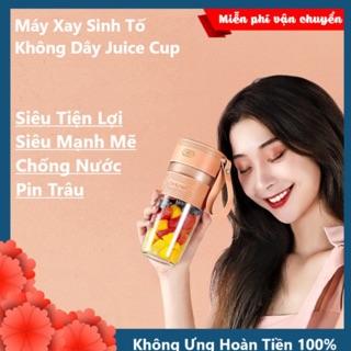 [HÀNG LOẠI 1] Máy Say Sinh Tố Không Dây Cầm Tay Juice Cup 300ml Hot Trend 2020 Siêu Tiện Lợi, Pin Sạc Dung Lượng Lớn