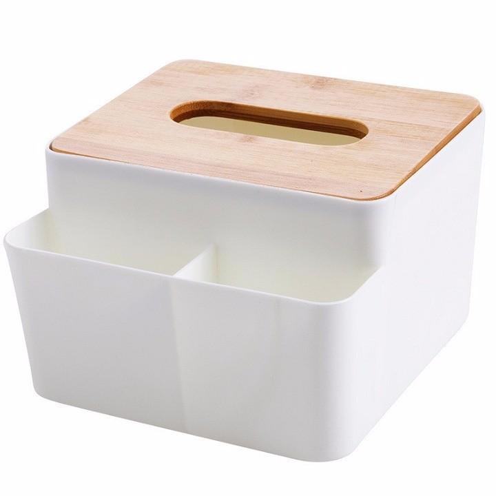 Hộp đựng giấy để bàn - Đựng đồ gọn nhẹ,ngăn nắp - Hộp đựng giấy để bàn.