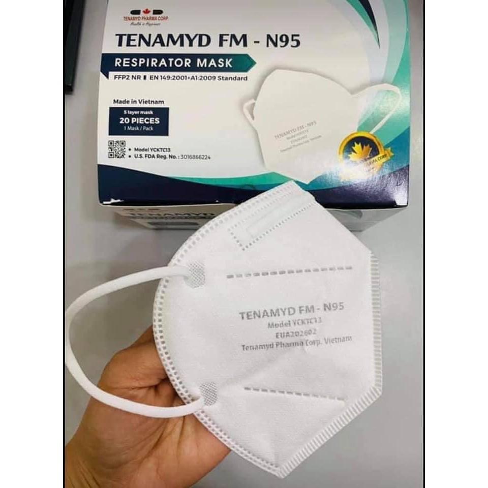 KHẨU TRANG Y TẾ N95 TENAMYD chống khuẩn 99%