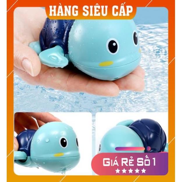 Đồ chơi nhà tắm rùa vặn cót bơi được dưới nước siêu cute cho bé