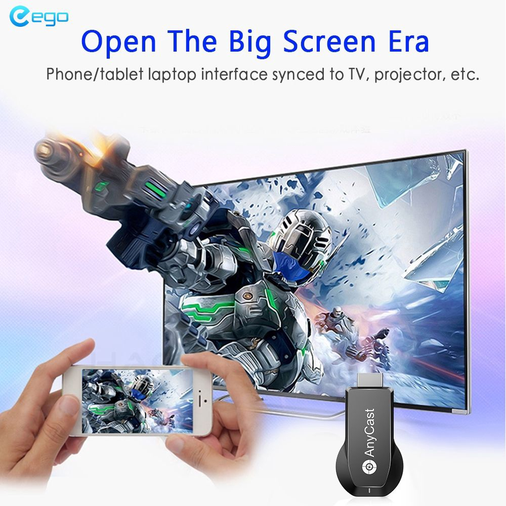 ✪COD✪ M100 4K HD Wireless 2.4G/WiFi HDMI Display Receiver TV Projection Video Transmission Fits For Netflix Google Giá chỉ 292.581₫