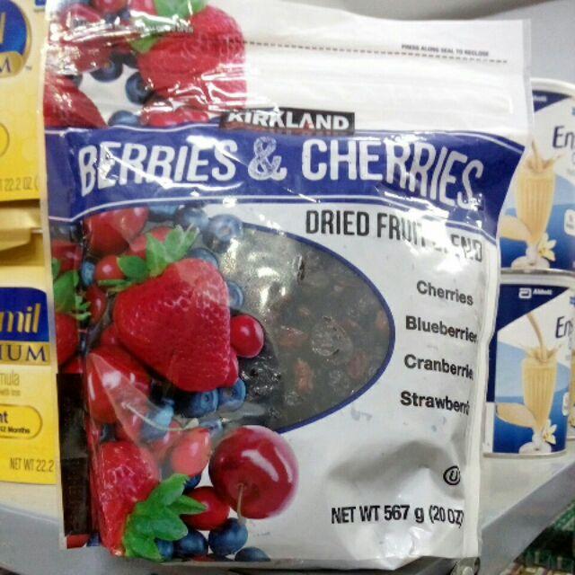 Quả dâu và cherry sấy khô 567g