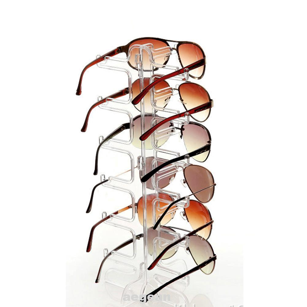 Stable Sunglasses 6 Layers Display Rack