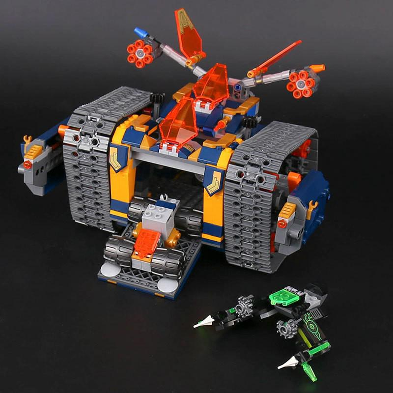 Compatible with 72006 LEPIN 14042 676pcs Axl's Rolling Arsenal Heavy Armed