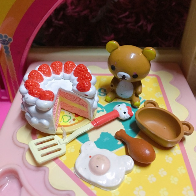 Bộ đồ chơi rement bánh trứng gấu !