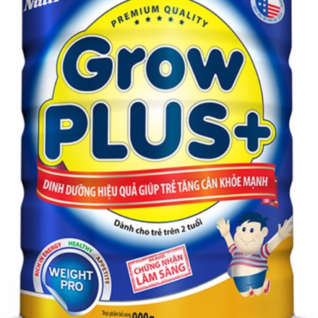 Sữa grow plus xanh 900g