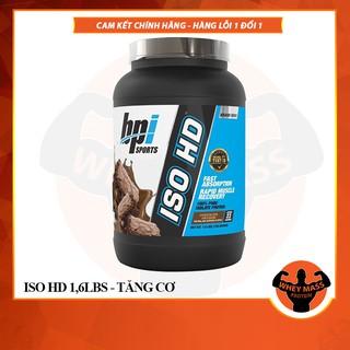 Sữa Dinh Dương Tăng Cơ Nuôi Cơ Phục Hồi Cơ Bắp Bpi Sports Iso HD 1.6lbs Từ Mỹ