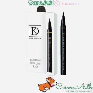 Bút Kẻ Viền Mắt Karadium Waterproof Brush Liner Eyeliner Pen Black 0.55g thumbnail
