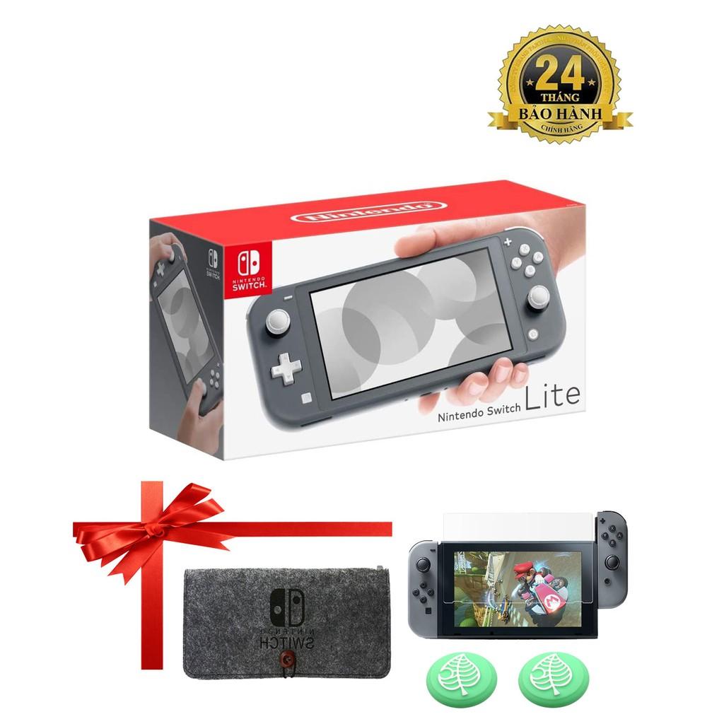 Máy Chơi Game Nintendo Switch Console Lite - Màu Xám - Bảo Hành 12 Tháng