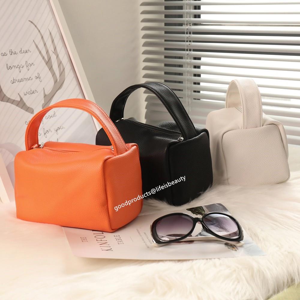 Túi xách da PU thiết kế đơn giản phong cách Hàn Quốc cho nữ