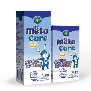 Sữa pha sẵn Metacare Eco loại 180ml thùng 48 hộp