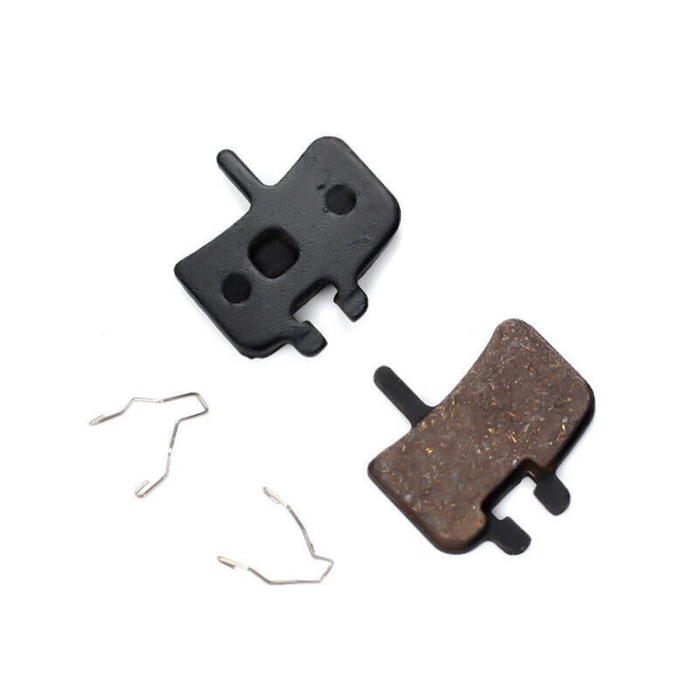 1 Pair Replacement Mountain Bike Accessories Heat Resistant Lightweight Outdoor Easy Install Semi Metallic Brake Pads