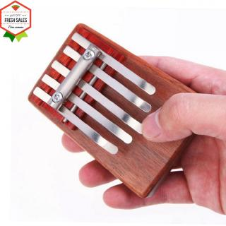 5-Key Kalimba Rosewood Mbira Children Mini Guitar Thumb Piano Traditional Musical Instrument Gift