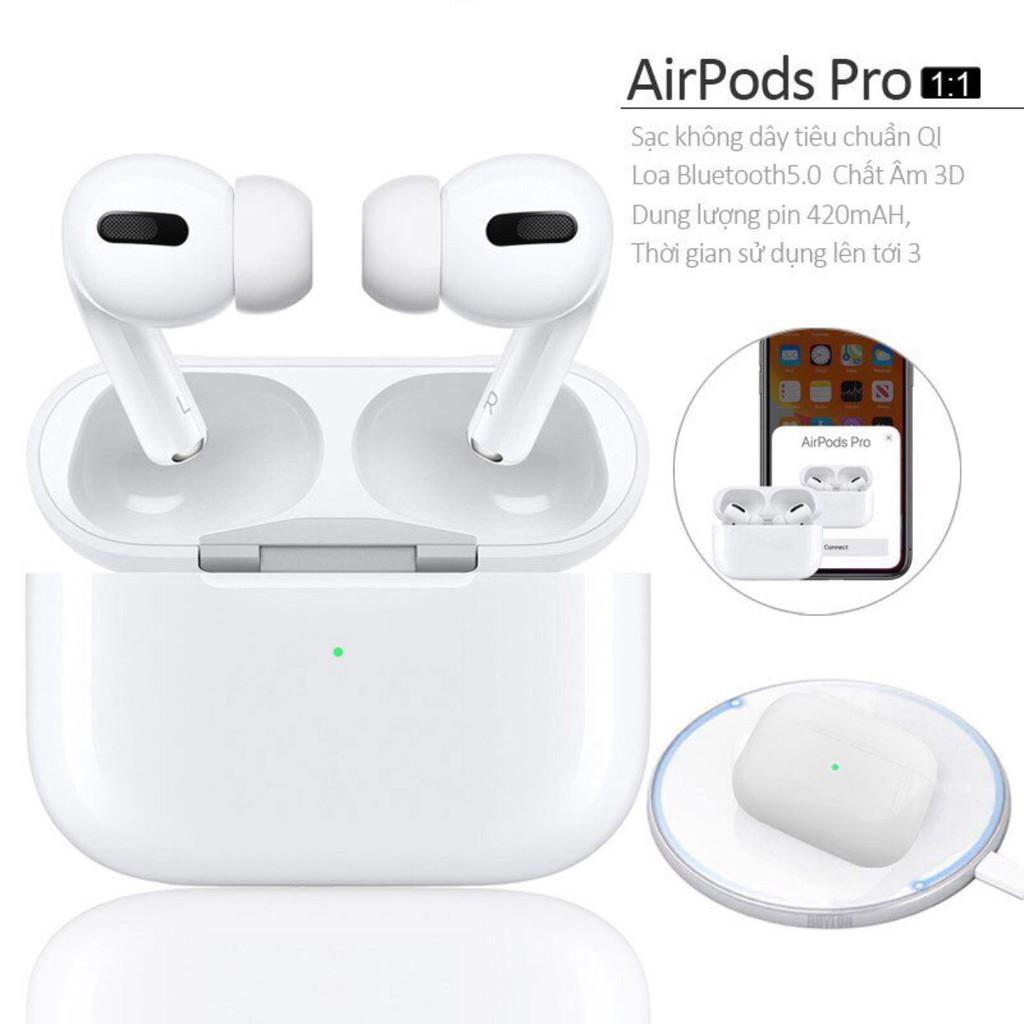 Tai nghe bluetooth không dây PRO 1-1, tai phone nhét tai, đàm thoại, chống ồn, cảm biến, GT SHOP