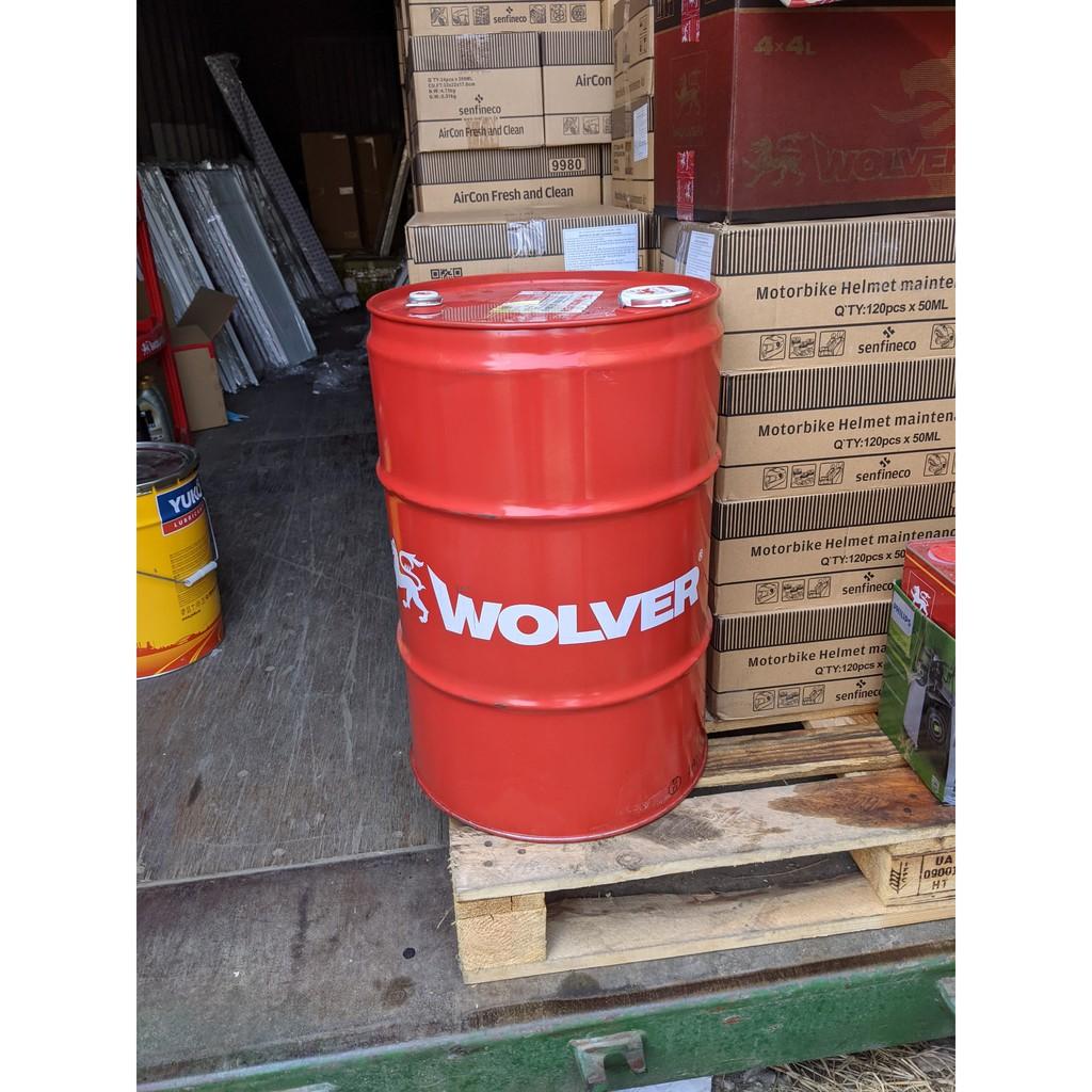Nhớt Wolver Turbo Power 20W-50 Ci-4 208L_ Nhập 100% Đức