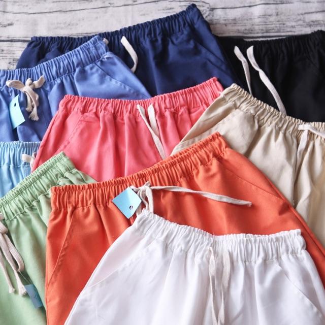 QUẦN SHORT ĐŨI ỐNG RỘNG quần cộc quần đùi