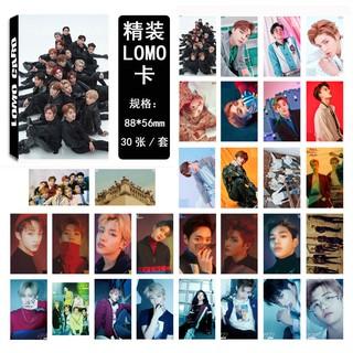 set 30 tấm ảnh in lomo card nhóm nhạc nct