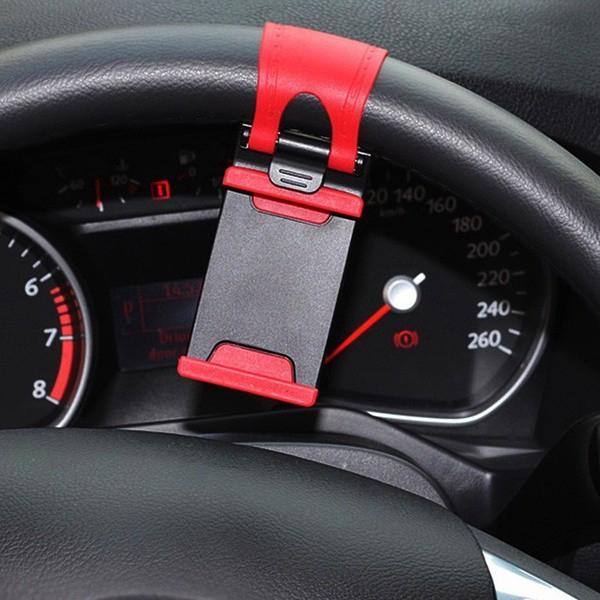 Giá đỡ điện thoại gắn vô lăng xe hơi B