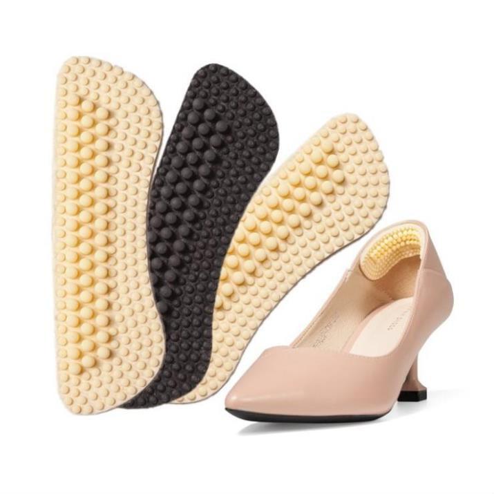 COMBO 3 Miếng lót gót giày dán chống trơn trượt đau gót chân 4D silicon PK13