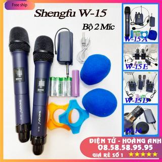 Mic đa năng SHENGFU W15 - 15A - 15E - 15D là dòng mic cao cấp của hãng shengfu Hàng chĩnh hãng 100%
