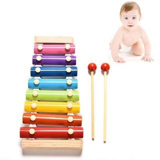 DGK - Đồ chơi Đàn Piano Xylophone gỗ 8 thanh quãng - Đồ chơi âm nhạc cho bé 3