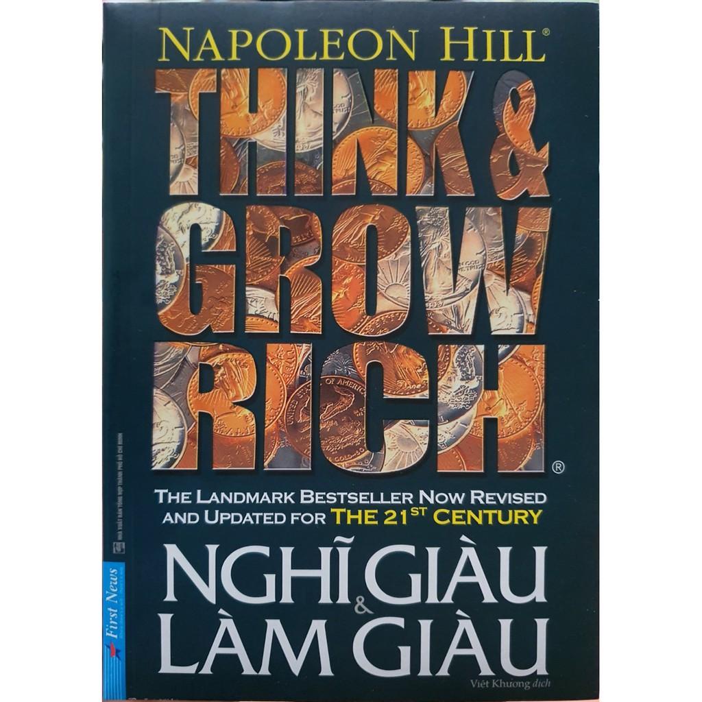 Sách - Think & Grow Rich - Nghĩ Giàu Và Làm Giàu