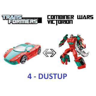 [Victorion 4/6] DUSTUP – Robot Transformers lắp ráp thành xe ôtô
