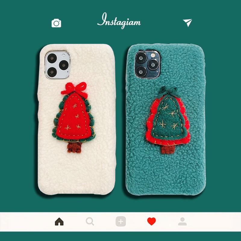 Ốp Lưng Phong Cách Giáng Sinh Đáng Yêu Cho Apple X/xs/xr