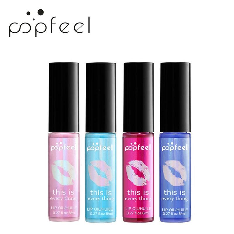 [Hàng mới về] Son môi tạo độ bóng lấp lánh kháng nước lâu trôi thương hiệu POPFEEL