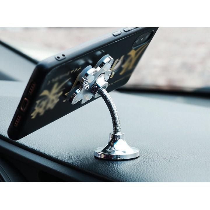 Giá đỡ điện thoại hút chân không 2 đầu mẫu mới