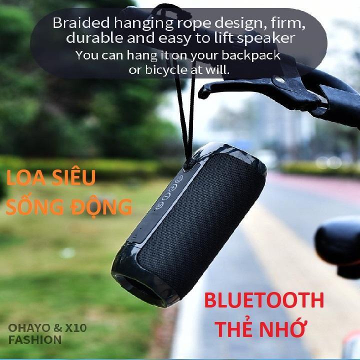 Loa Bluetooth Di Động Thông Minh - Chính Hãng T&G - Thiết Kế Tính Năng Chống Nước