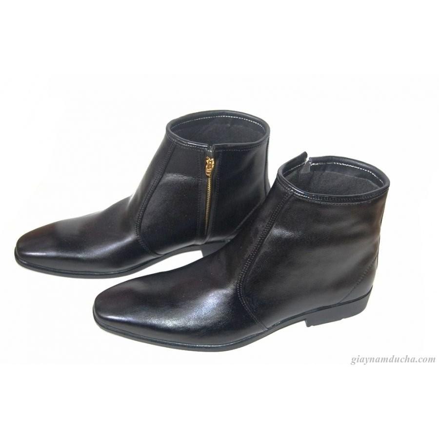 Giày boot da bò thật. BH: 12 tháng.MS : B39