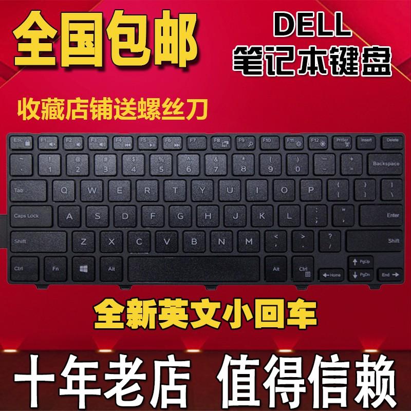 แทนที่ Dell Latitude Latitude 14-3450 3470 3460 3480 คีย์บอร์ดโน๊ตบุ๊ค