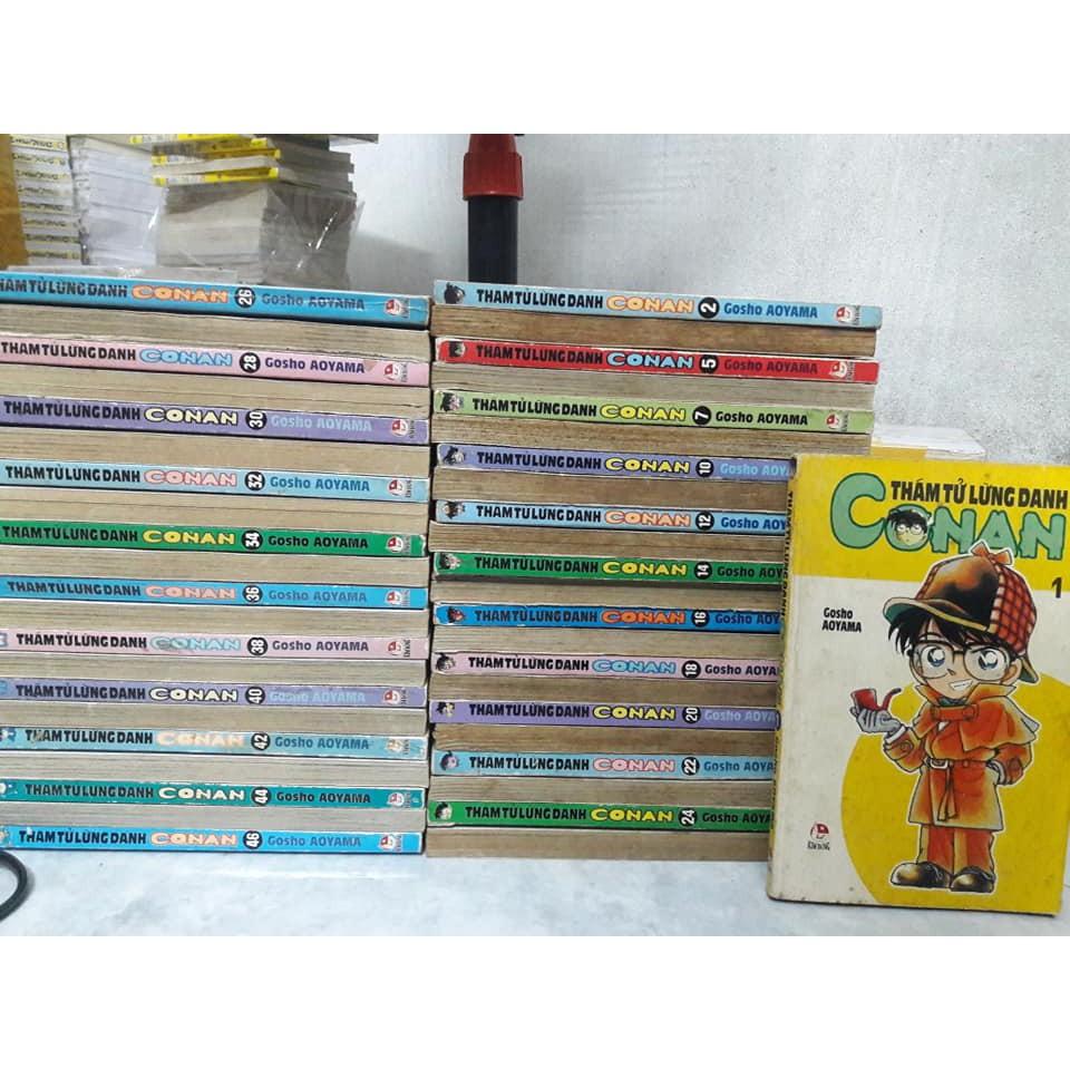 Truyện Conan Bản Đời Đầu Tập 1-46/Thiếu 2 Tập/70% giảm chỉ còn 439,000 đ