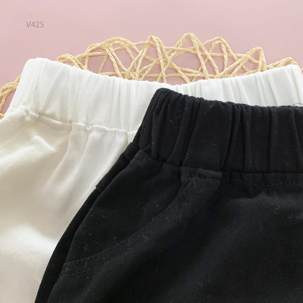 [ẢNH THÂT]Quần Lửng Kaki Xước 2 Màu Cực Đẹp Cho Bé Trai Từ 8 -20Kg Unchi Store (V425)