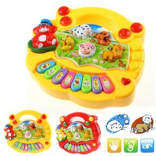 Kids Kids Musical Education Animal Farm Piano Toys Gift