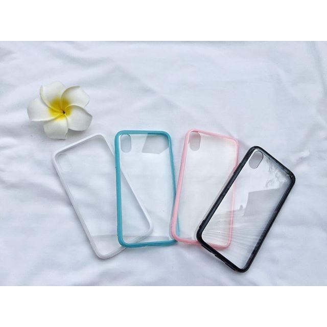 ỐP IPHONE  6 6s 7 8 Plus 6Plus X XS  viền chống ố - Giá Rẻ