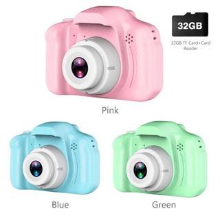 [Mã NOWSHIPT6HAPPY giảm 20k đơn 50k] Máy ảnh kỹ thuật số mini 2.0 inch 1080P có 3 màu cho bé