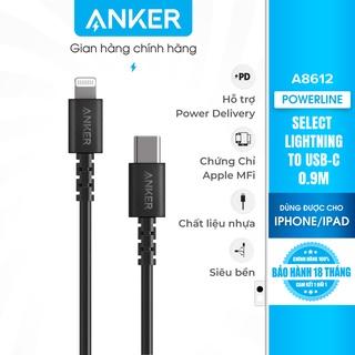 Cáp sạc ANKER Select Lightning to USB-C dài 0.9m - A8612 thumbnail